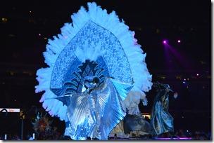 Mardi Gras performer