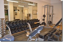 Clarion Hotel Sign gym-4