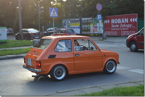 Krakow tiny car
