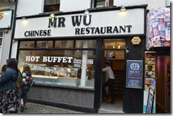 Mr Wu Chinatown 7GBP buffet