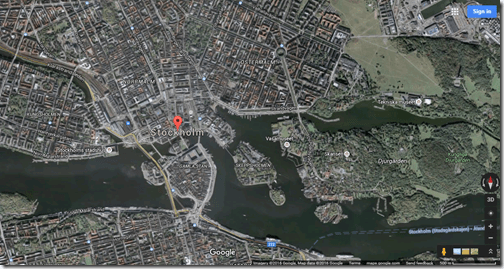 Stockholm Google Maps