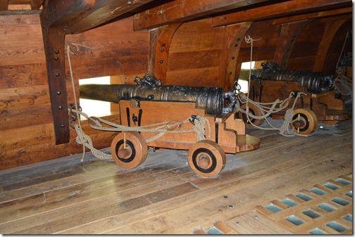 Vasa cannons