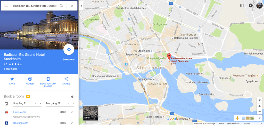 Radisson Blu Park Hotel Stockholm