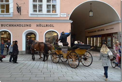 Salzburg carriage