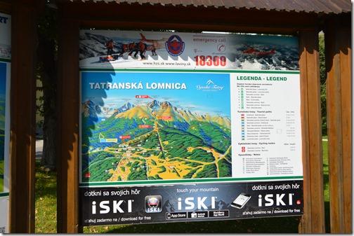 Tatranska Lomnica map