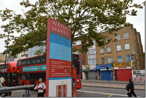 Watney Market sign