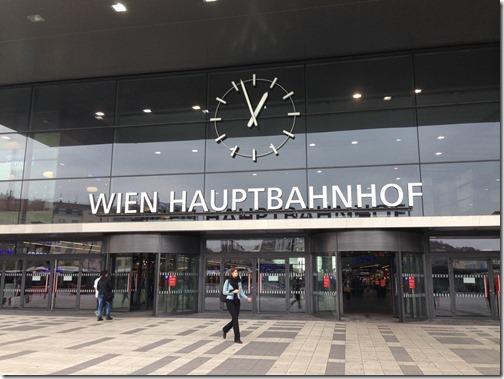 Wien train station