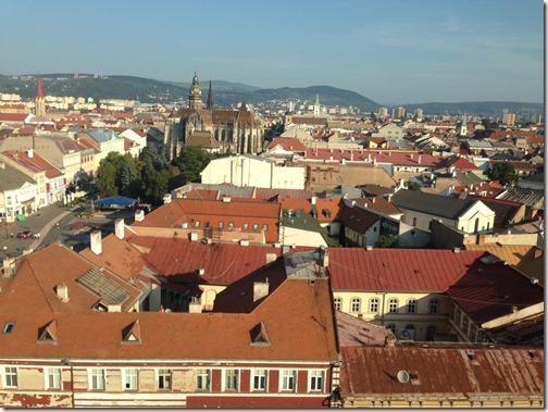 Kosice city view
