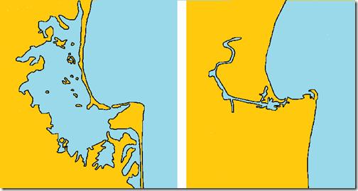 Ahuriri_Lagoon_map_before_after_1931_Hawke's_Bay_earthquake_crude