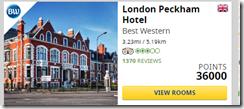 Best Western London Peckham 36K