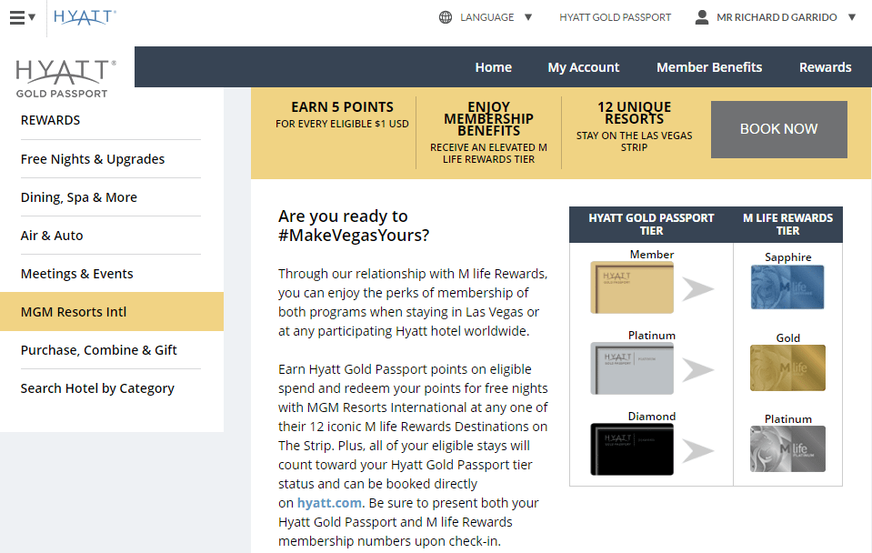 Gold Passport Diamond Level