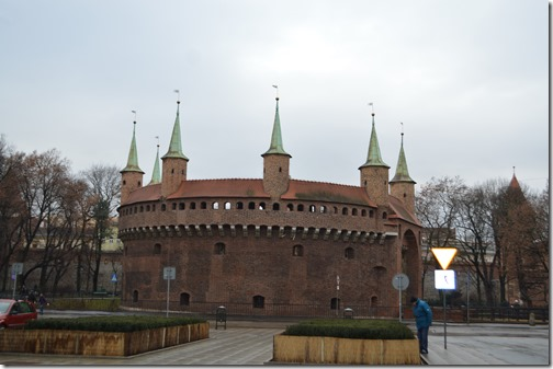 Krakow Old fortress