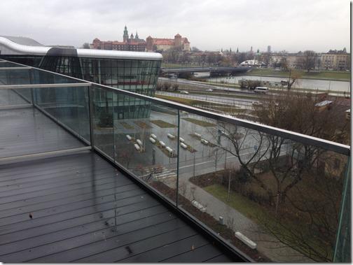 Best Western Q Krakow view