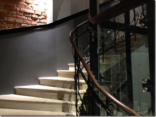 Krakow Hotel Indigo stairway