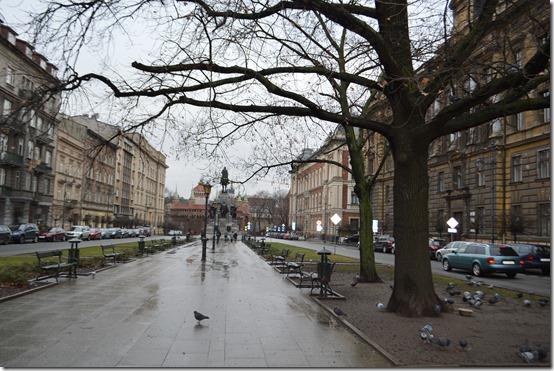 Krakow north Planty
