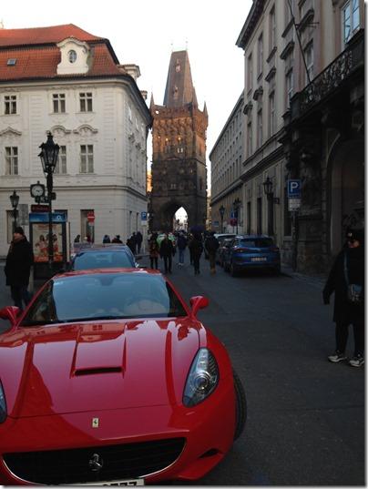 Prague tower gate
