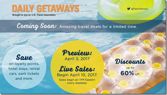 Daily Getaways 2017
