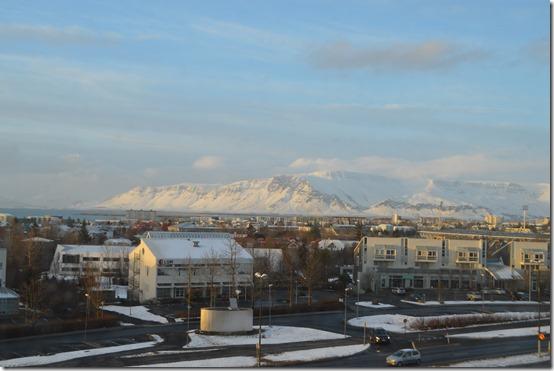 Hilton Reykjavik view