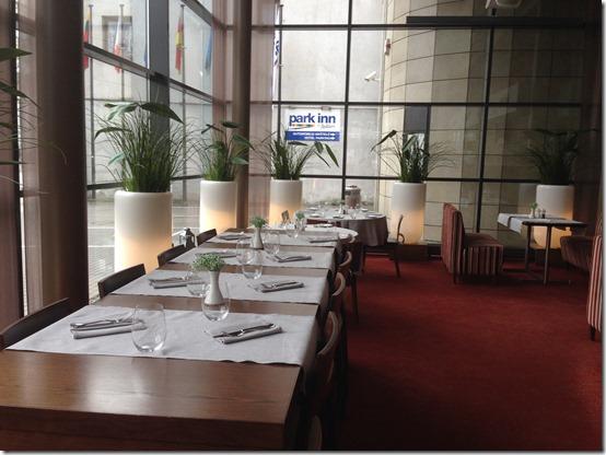 Park Inn Kaunas restaurant