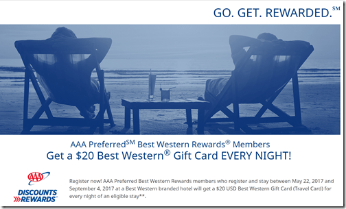 Best Western AAA $20-night