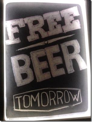 Kaunas free beer