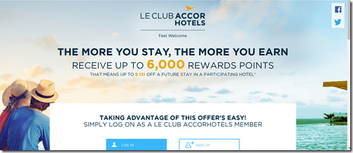 Le Club Accorhotels summer 6K promo