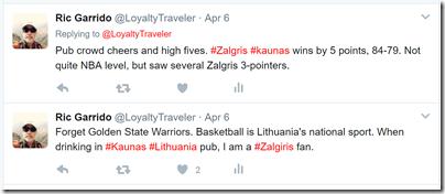 Loyalty Traveler twitter Kaunas