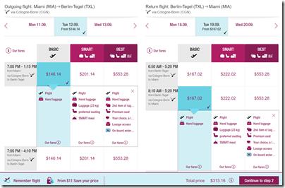 MIA-TXL $313 Eurowings Sep12-19