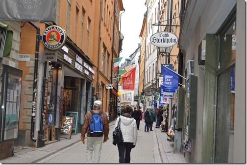 Stockholm Gamla alley