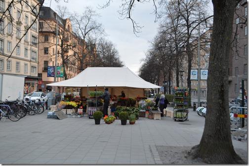 Stockholm flower stall