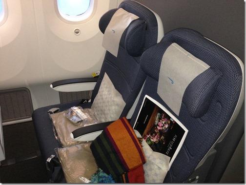 BA 43 H-J seats