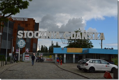 Gdansk Shipyard Gate No.2