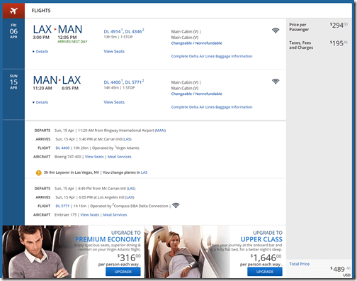 LAX-MAN $490 DL Apr6-15