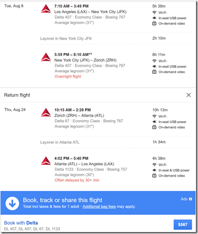 LAX-ZRH $567 Google-DL Aug8-24