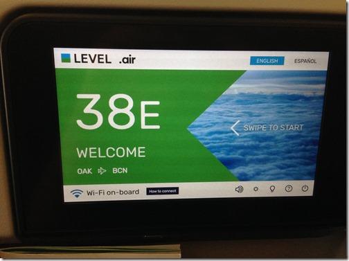 Level Seat 38E