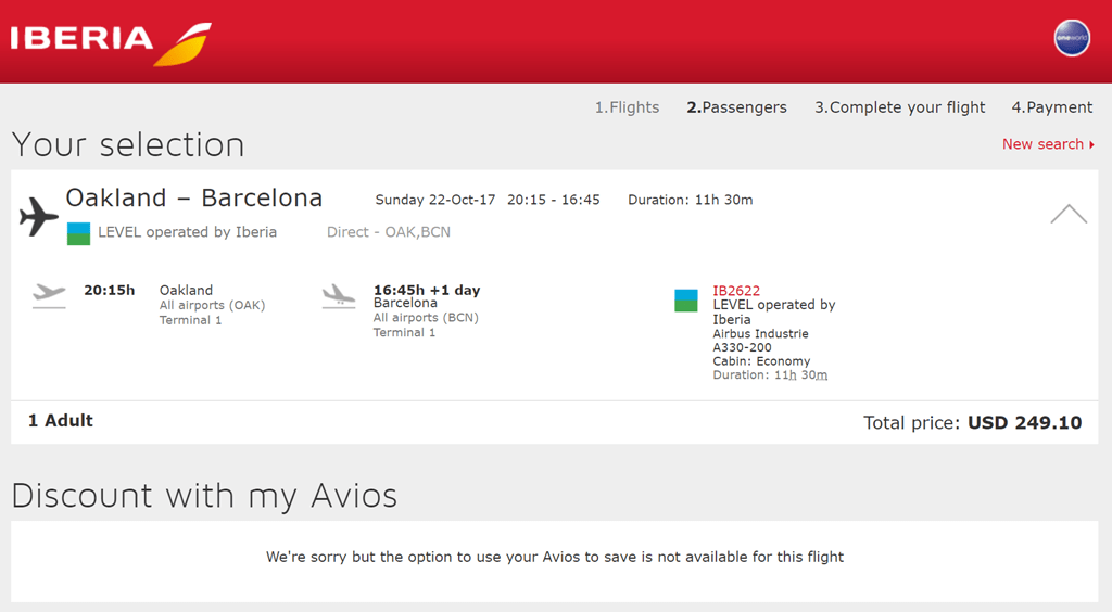 Does Iberia Airlines Charge For Seat Assignments