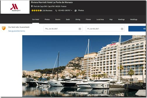 Marriott Monaco