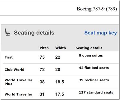 SeatGuru 787-9 cabin seats