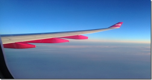 Wow pink sunset