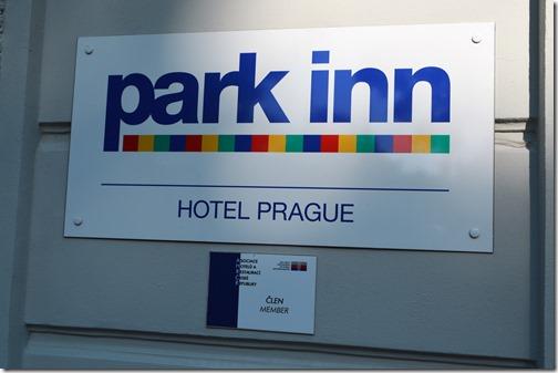 Park Inn Prague sign