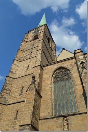 Plzen church tower