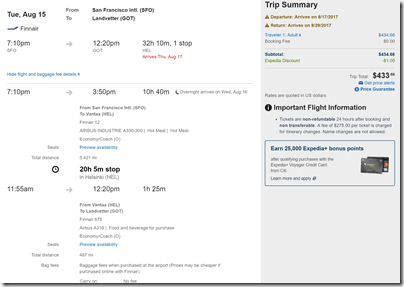 SFO-GOT $434 Expedia Aug15-28