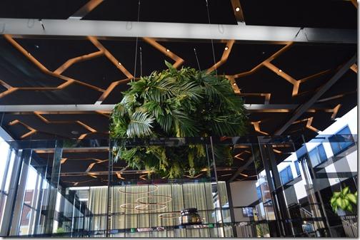 Skt Petri lobby ceiling