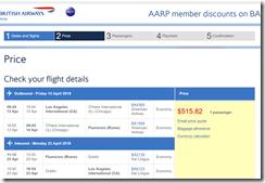 LAX-FCO $516 BA-AARP Apr13-23