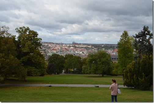 Prague Park view