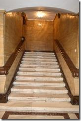 Sofia Balkan basement stairs