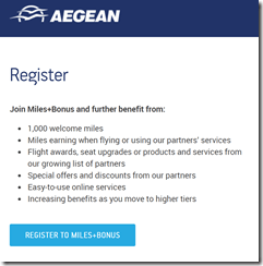 Aegean new member 1000 miles
