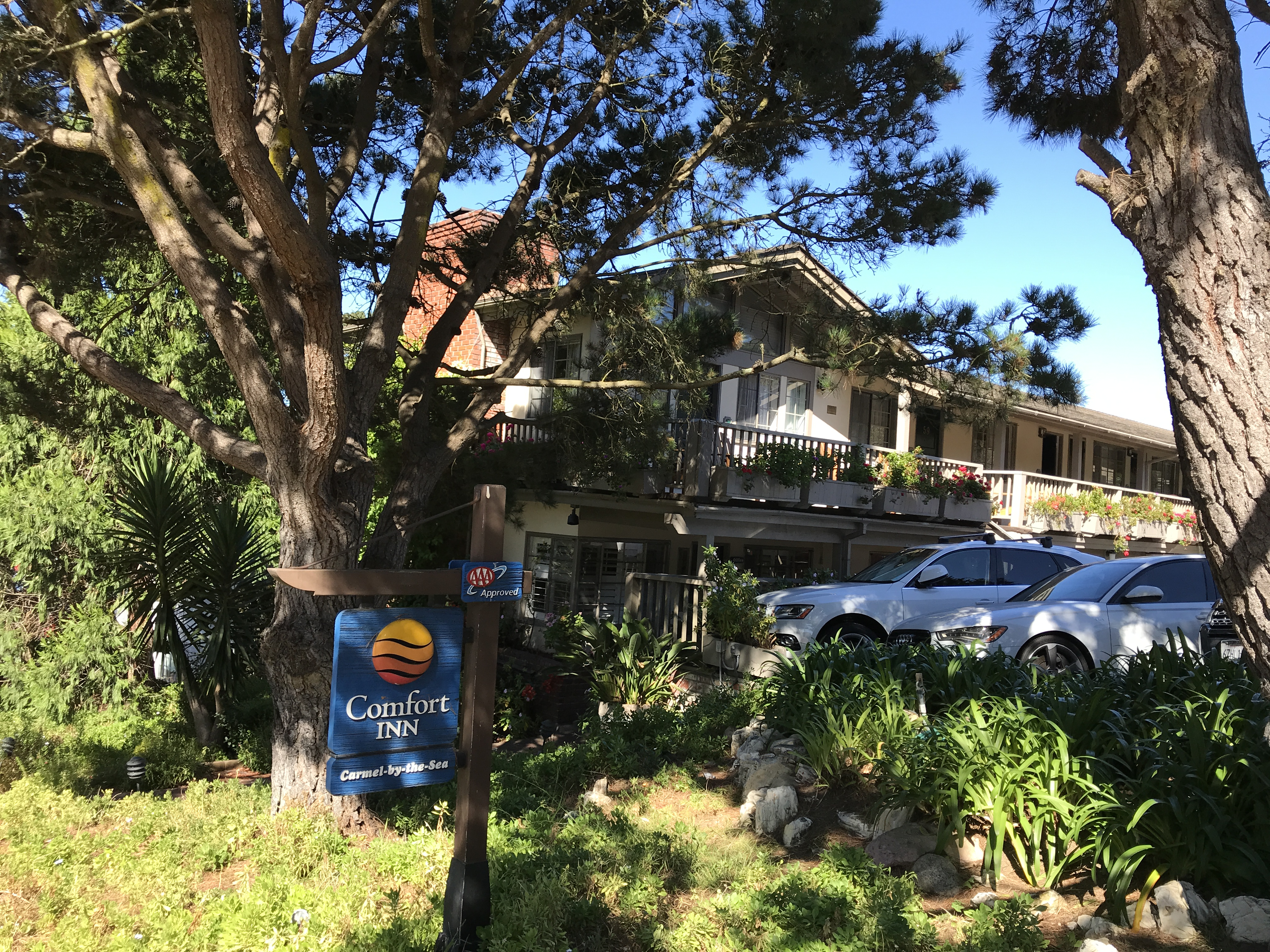 Hotel Review Comfort Inn Carmel By The Sea 48 000 Points