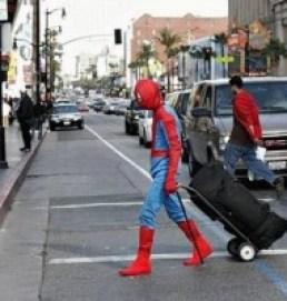 non-practising superhero