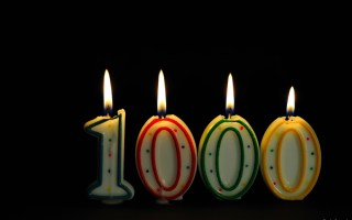 It's Our 1,000th Post!